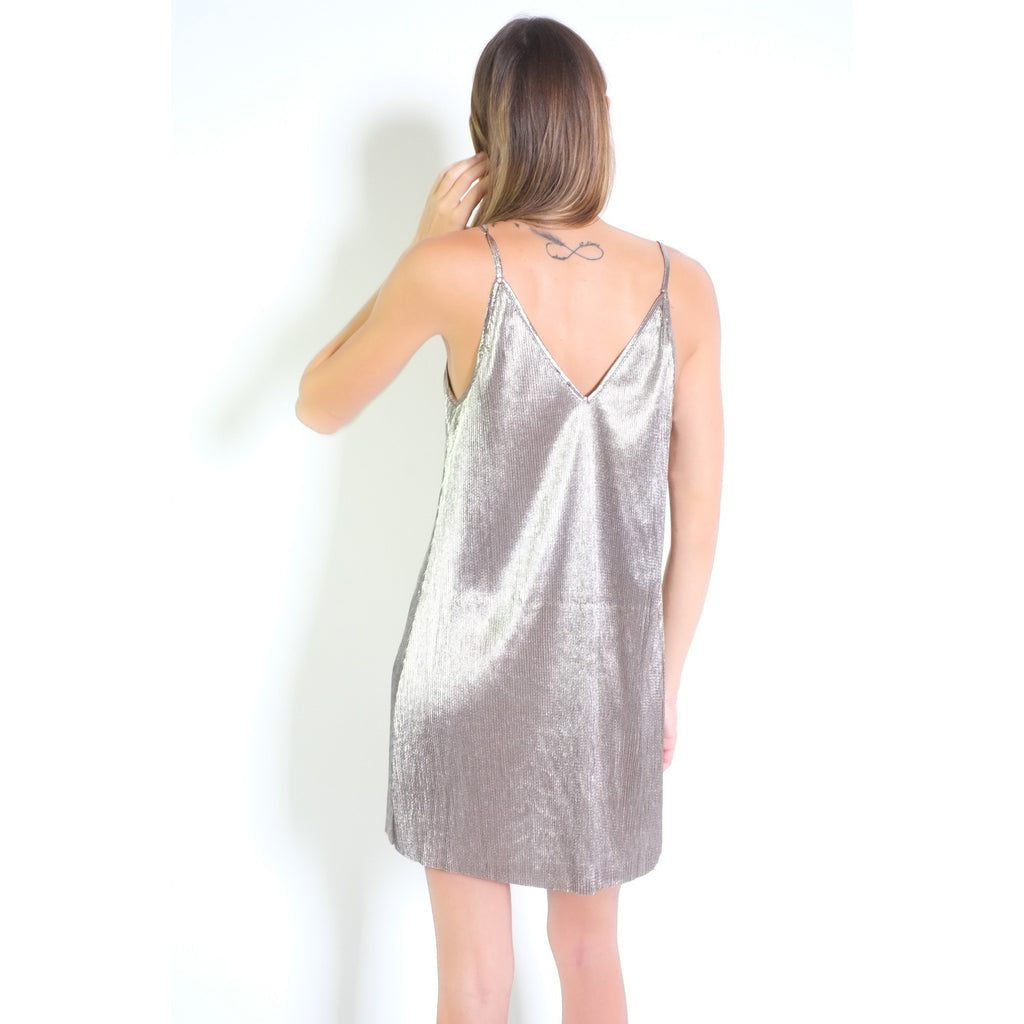 Laila Dress - Silver - Shop Angel Dust