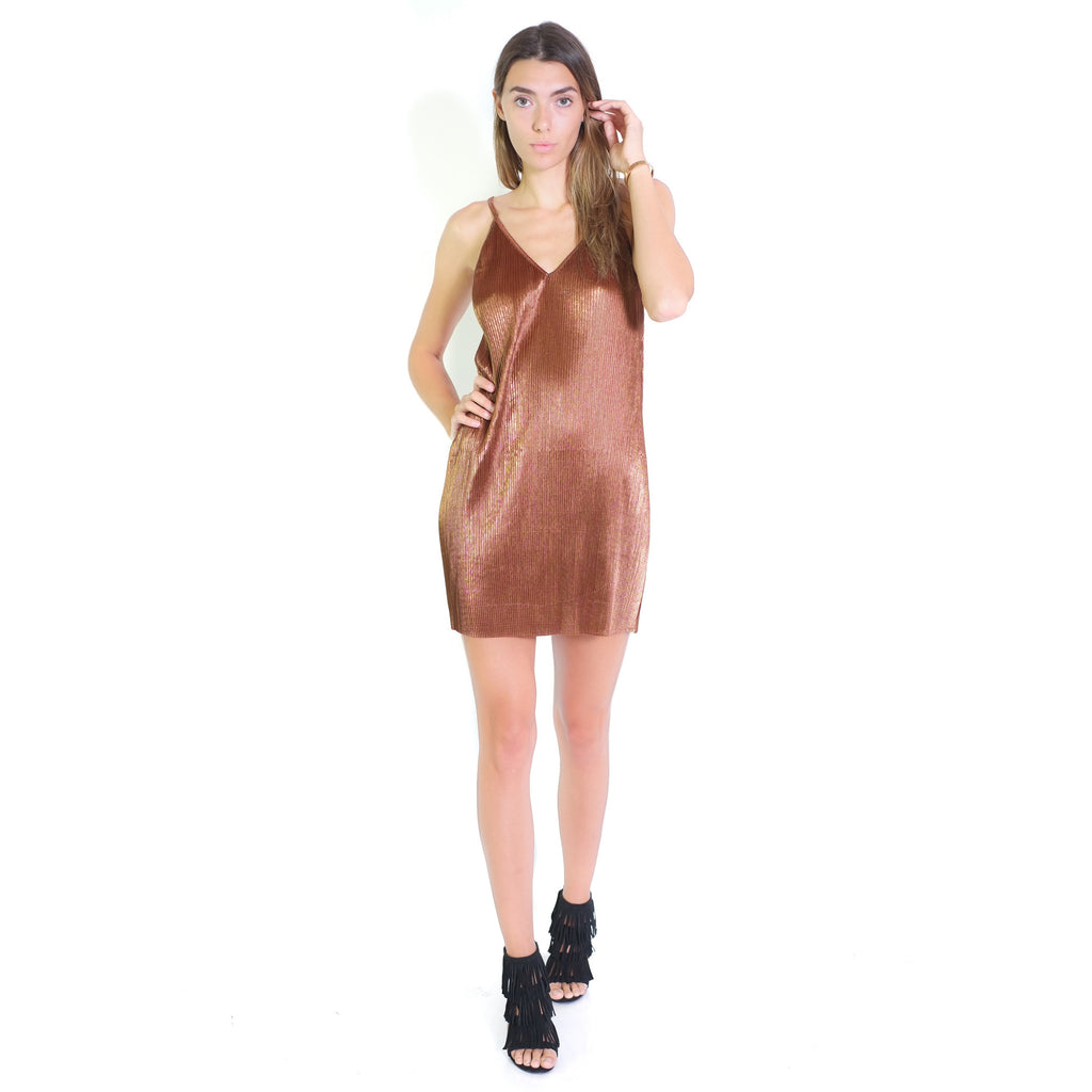 Laila Dress - Copper - Shop Angel Dust