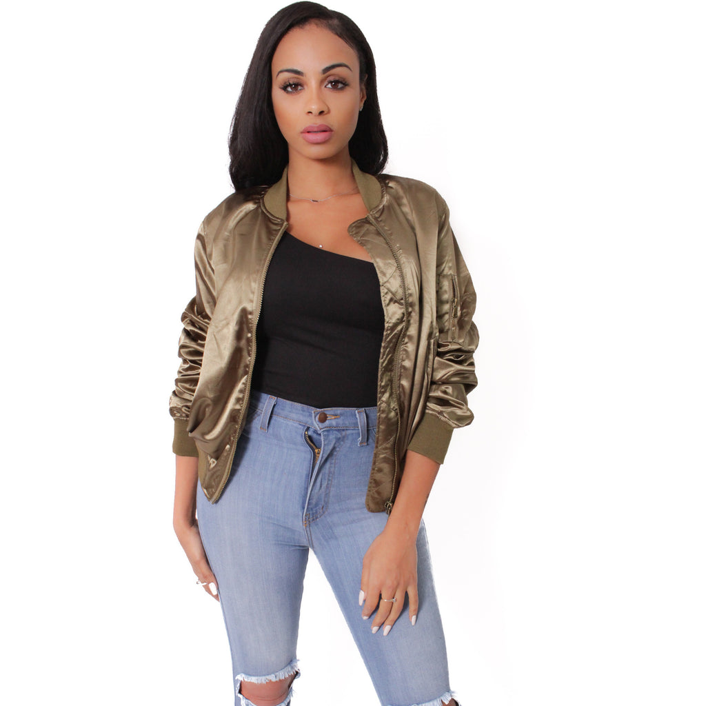 Gigi Bomber Jacket - Shop Angel Dust