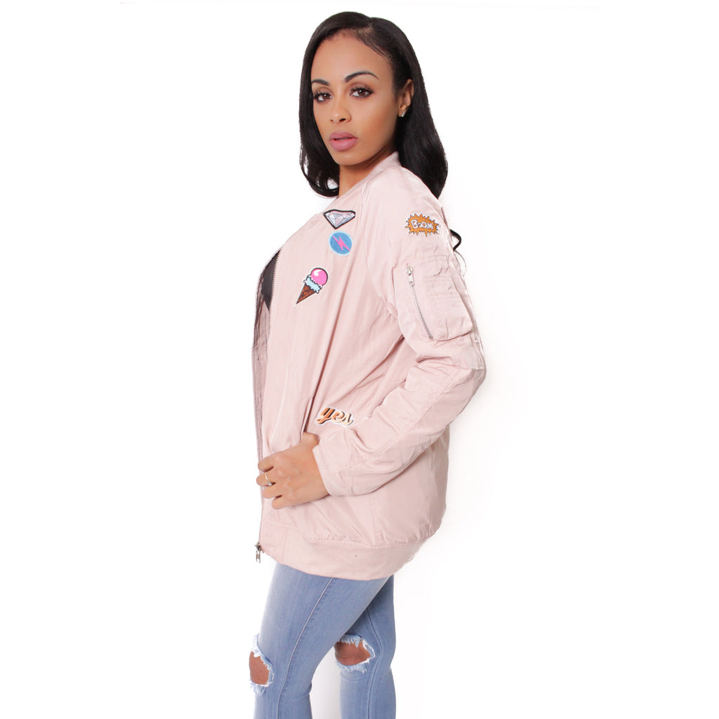 Patch Bomber Jacket - Shop Angel Dust