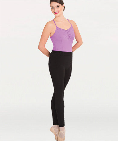 Body Wrappers Black Featherweight Brushed Leggings