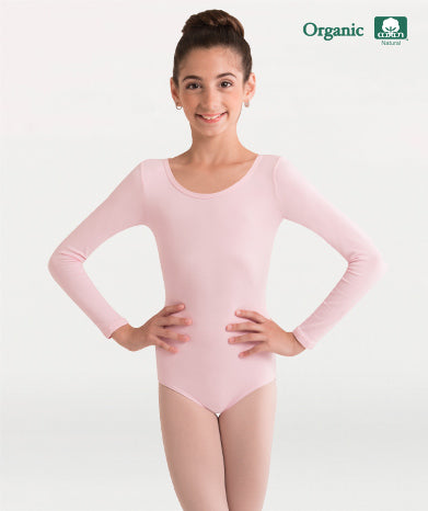 Body Wrappers Girls Long Sleeve Leotard