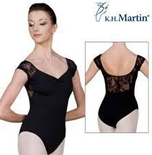 Sansha Desire Black Leotard
