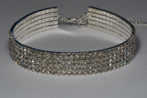 Crystal Stretch Choker 5 Row