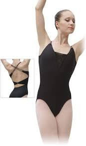 Sansha Paola Black Leotard