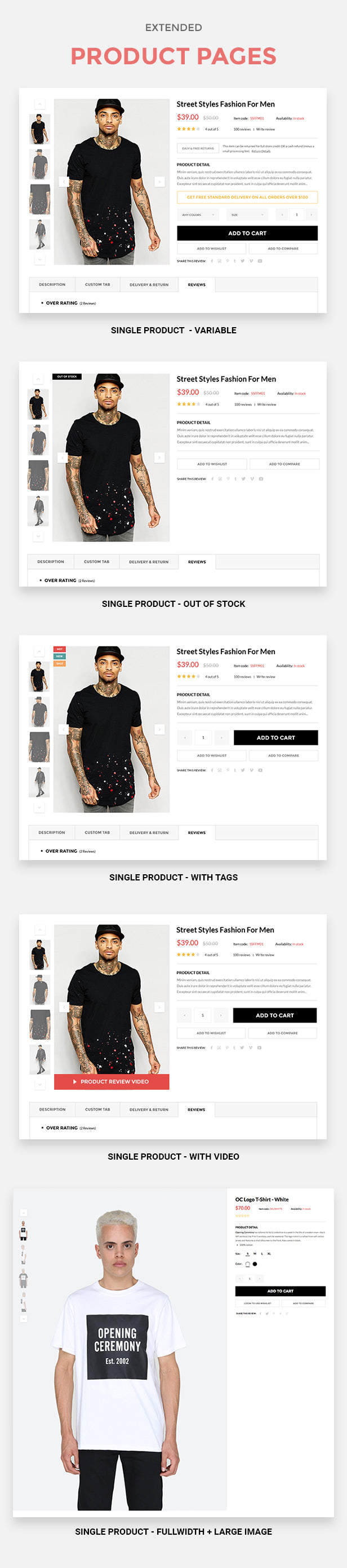 Vision - DRAG and DROP Fashion, Digital Shopify Theme