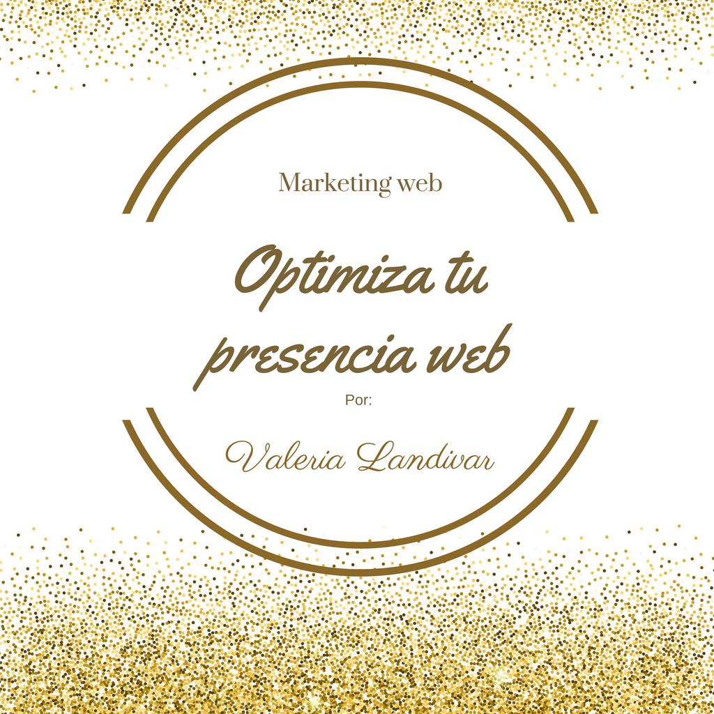 Optimiza tu presencia web