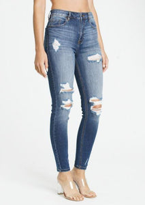 Bella Super High Rise Skinny Ankle
