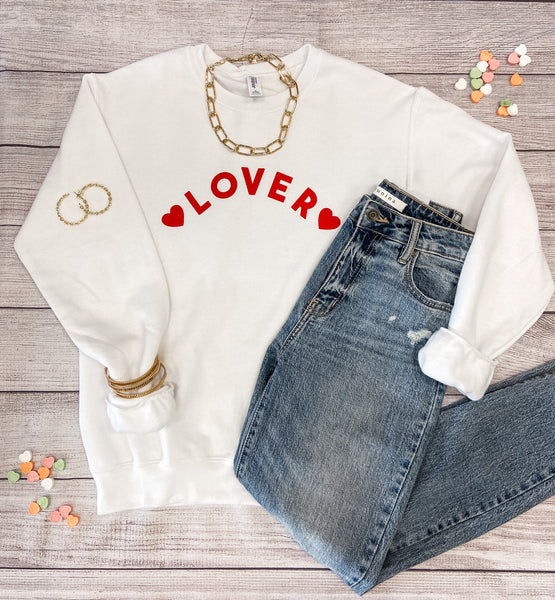 Lover Graphic Sweatshirt