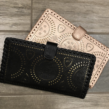Lattice Over sized Wallet