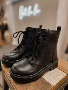 Firm Combat Boots