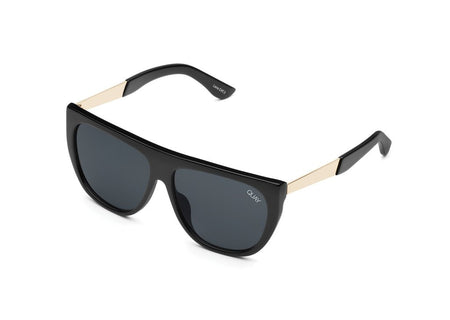 Quay Drama by Day Sunglasses - Black Smoke