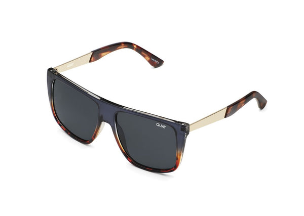 Quay Incognito Sunglasses - Navy/Tort