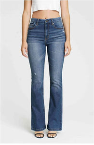 Aliyah High Rise Flare Denim