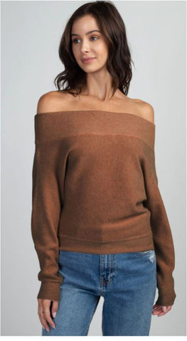 Ginger Boat Neck Sweater