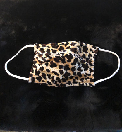 Chic Leopard Face Mask