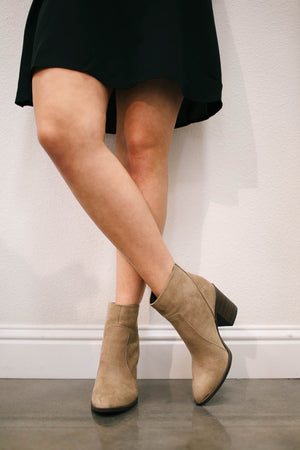 TAUPE NOLAN BOOTIE