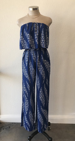 Abstract One Piece Tube Jumpsuit
