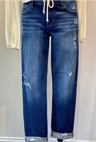 Midrise Relaxed Skinny Jean