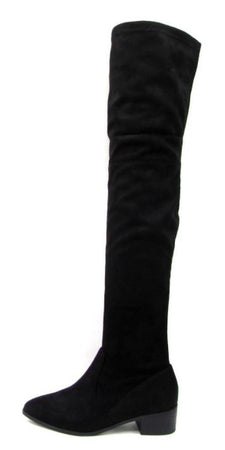 Tutor Over Knee High Boots