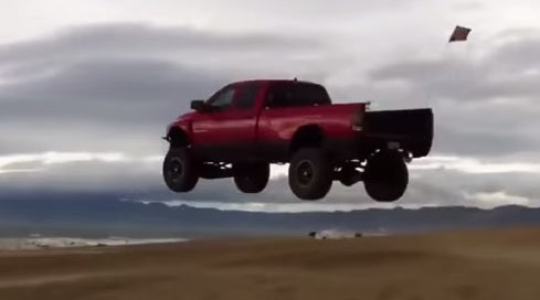 Watch these guys launch their Cummins   Power Stroke powered trucks at  30-50MPH! This is one of the best compilations of truck jumps we ve seen! 160cdc23664e