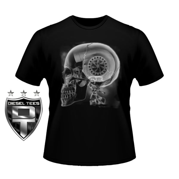 Turbo Skull X-Ray T Shirt