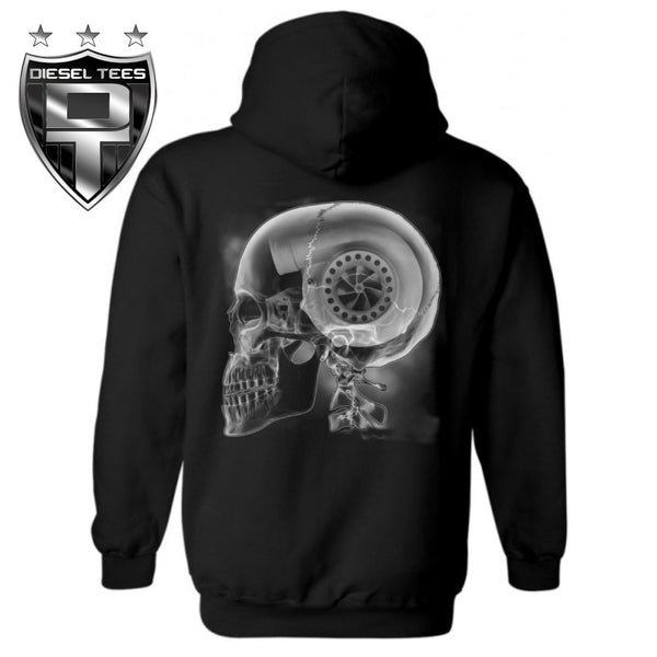 Turbo Skull Hooded Sweatshirt