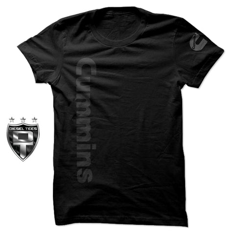 Cummins Diesel Jersey T Shirt BLACK