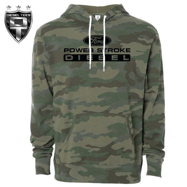 Ford Power Stroke Diesel Ultra Camo Hoody