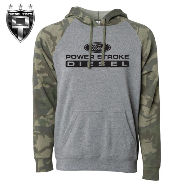 Ford Power Stroke Camo Sleeved Hoody