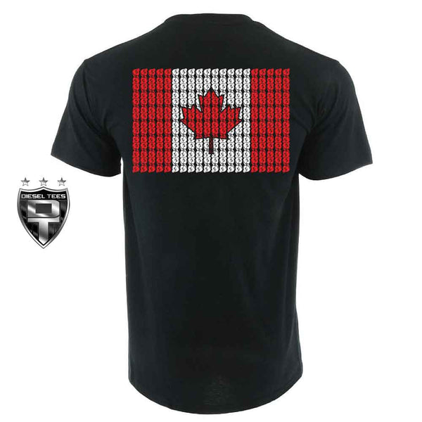 Canadian Turbo Flag T Shirt