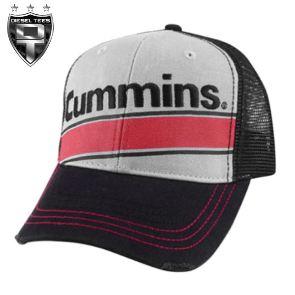 Cummins Trucker Hat Red Stripe