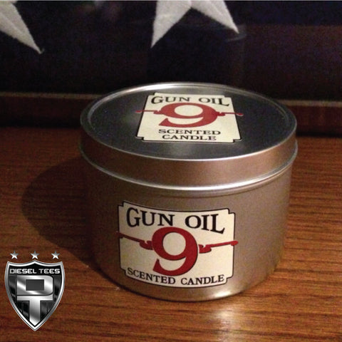 Gun Oil 9 Scented Candle