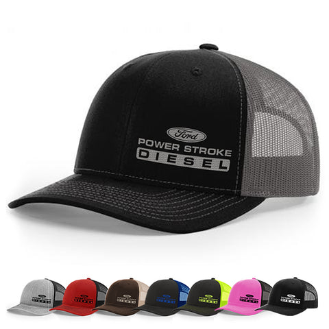 Power Stroke Diesel Trucker SnapBack Hat 112