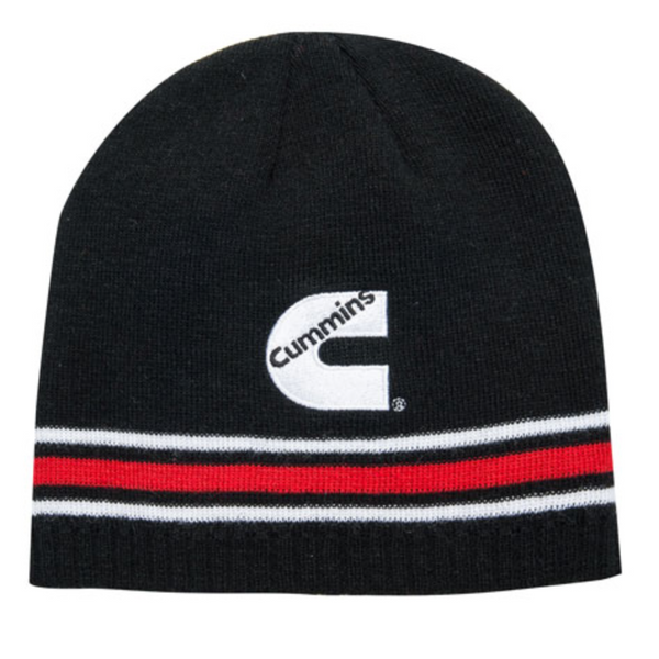 Cummins Striped Beanie