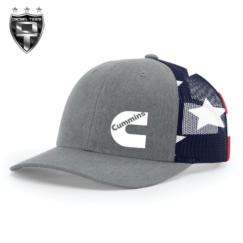 Cummins Flag Trucker Hat