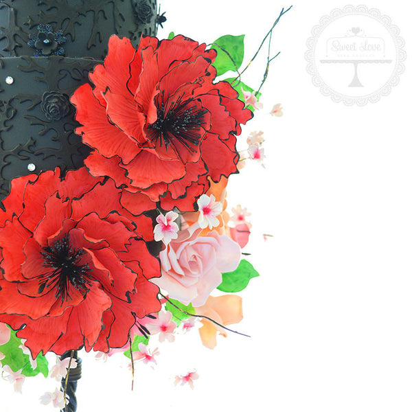 Watercolour Fantasy Flower - Instant Download