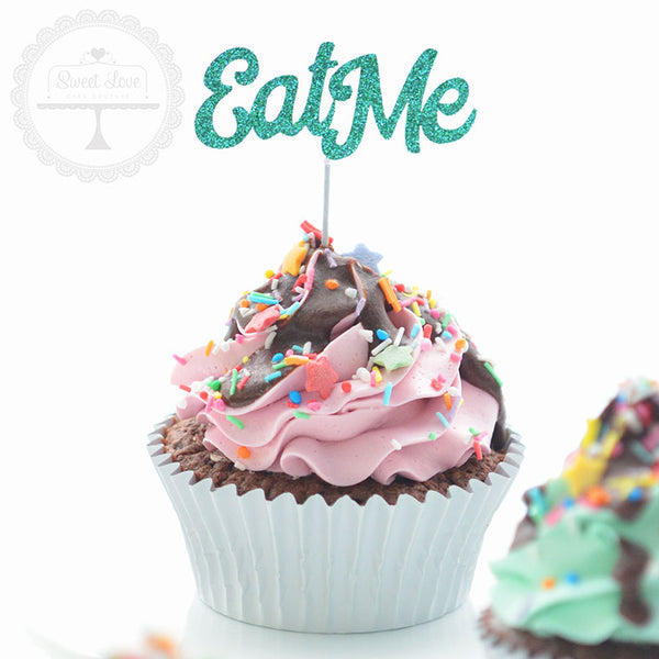 Cupcake Toppers - Eat Me