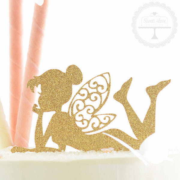 Cake Topper - Laying Fairy