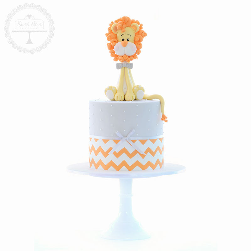 Baby Lion Cake Topper - Instant Download