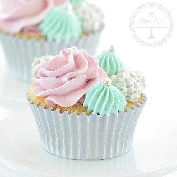 Forever a Mermaid Cupcakes