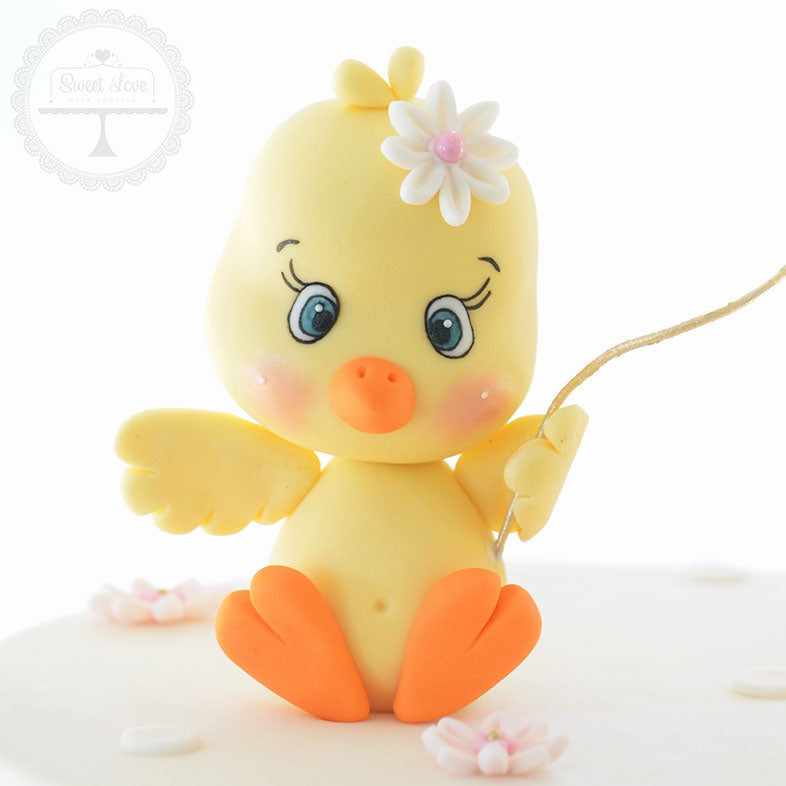 Baby Chick Cake Topper - Instant Download
