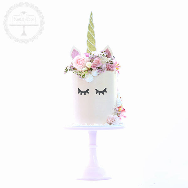Cake Topper - Unicorn Horn and Ears
