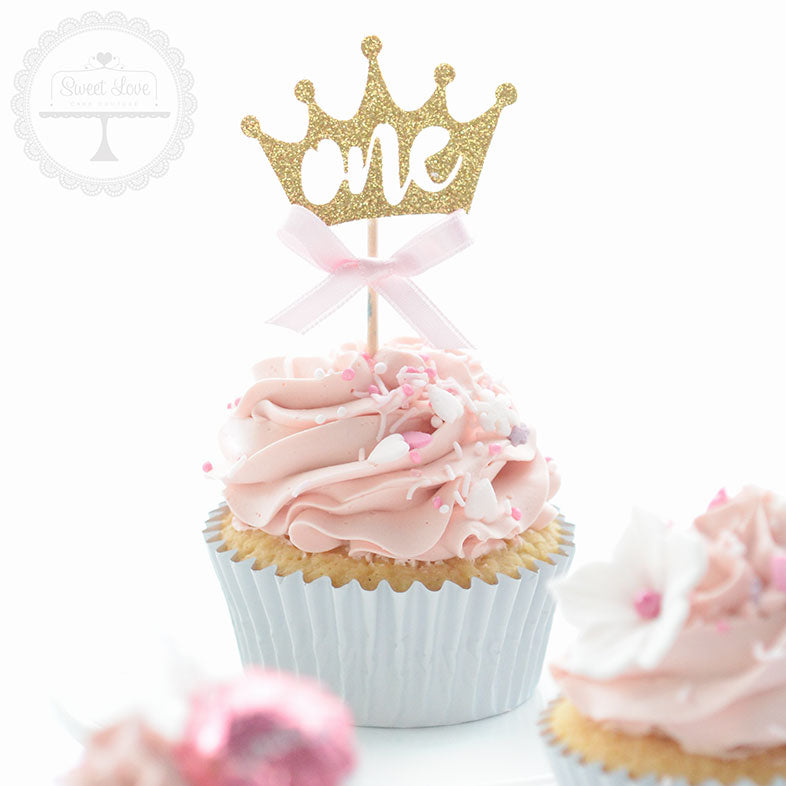 Cupcake Toppers - one Crown