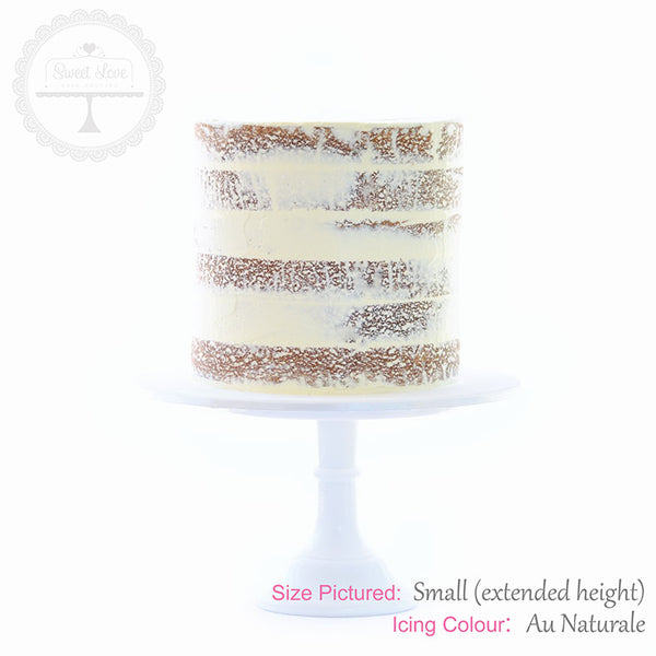 DIY: Semi Naked Cake
