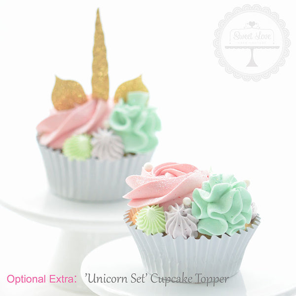 Wish Upon a Unicorn Cupcakes