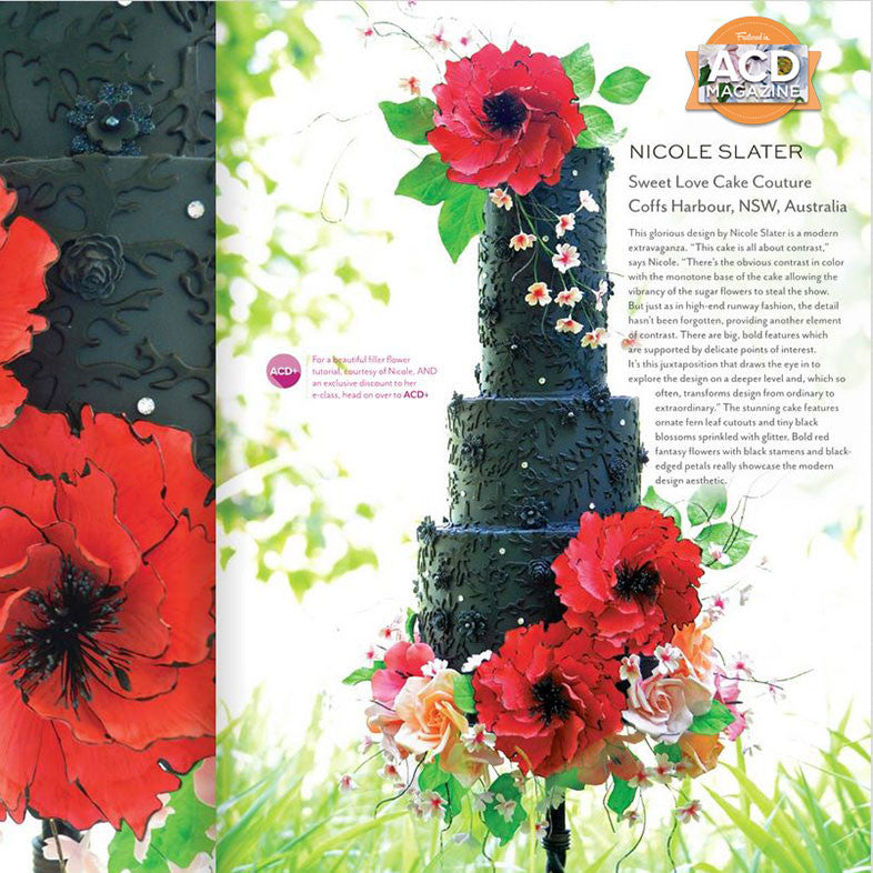 FEATURE:  American Cake Decorating Magazine