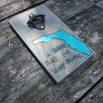 A Sunny Place for Shady People Magnetic Bottle Opener