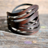 Waves - Leather Bracelet