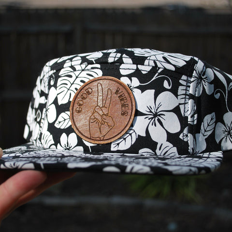 Tropicool - Leather Patch Hat - Choose Your Patch